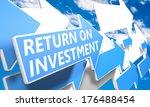 Return On Investment 3d Render...
