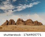 Outcrops At Mada\'in Saleh...