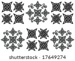 ornament pattern   vector | Shutterstock .eps vector #17649274