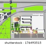 architecture design   Shutterstock . vector #176493515