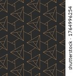 repetitive fabric graphic... | Shutterstock .eps vector #1764996254