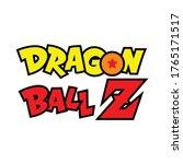 dragon ball z vector tshirt... | Shutterstock .eps vector #1765171517