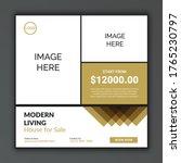 home sale social media...   Shutterstock .eps vector #1765230797