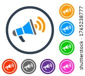 announcement icon vector... | Shutterstock .eps vector #1765238777