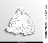 Laughing Buddha Abstract...