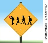 A School Crossing Sign Includes ...