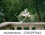 Bridal Bouquet Of White And...
