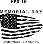 fourth of july illustration.... | Shutterstock .eps vector #1765334447