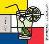 Highball Glass Cocktail Lime....