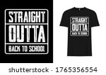 Straight Outta Back To School...