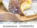 Ants At Home Eating A Donut