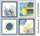 set of abstract illustrations... | Shutterstock .eps vector #1765423184