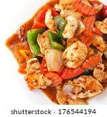 Stir Fry Chicken Spicy Sauce...