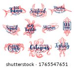 Seafood Lettering  Fishing Club ...
