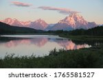 Sunrise Over Oxbow Bend In...