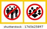 do not group together  avoid... | Shutterstock .eps vector #1765625897