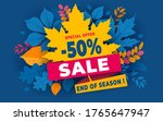 advertising banner about autumn ... | Shutterstock .eps vector #1765647947