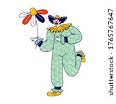 Big Top Clown Character With...