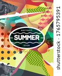 summer mood abstract background ... | Shutterstock .eps vector #1765795391