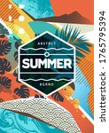 summer mood abstract background ... | Shutterstock .eps vector #1765795394