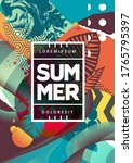 summer mood abstract background ...   Shutterstock .eps vector #1765795397