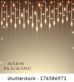 beautiful sequins on the... | Shutterstock .eps vector #176586971