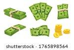set a various kind of money....   Shutterstock .eps vector #1765898564
