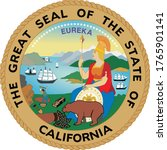 great seal of us federal state... | Shutterstock .eps vector #1765901141