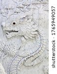 Bas Relief With Dragon  ...