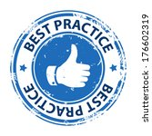 best practice rubber stamp icon ... | Shutterstock .eps vector #176602319