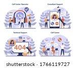 call center or technical...   Shutterstock .eps vector #1766119727