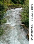 Small photo of rapids of the river Gail in the Lesachvalley at Eastern Tirol, Austria