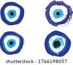 turkish evil eye symbol   the... | Shutterstock .eps vector #1766198057