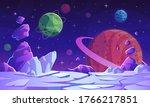 Fantasy Space Scene....