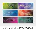 vector  abstract waves ... | Shutterstock .eps vector #1766254361