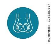 vasectomy flat icon  vector... | Shutterstock .eps vector #1766307917