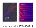 minimal covers design with... | Shutterstock .eps vector #1766330714
