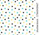 small triangles seamless... | Shutterstock .eps vector #1766343467