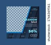 social media post template for... | Shutterstock .eps vector #1766369561