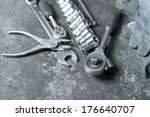 tools for car repair | Shutterstock . vector #176640707