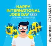 International Joke Day Flat...