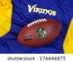 Постер, плакат: NFL Minnesota Vikings club