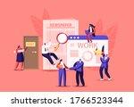 characters hiring job in... | Shutterstock .eps vector #1766523344