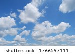 Blue Sky With White Clouds...