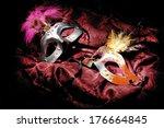 carnival mask - stock photo