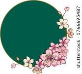 Free Hand Sakura Flower Vector...