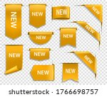 golden ribbons  banners and... | Shutterstock .eps vector #1766698757