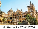 Small photo of Chhatrapati Shivaji Maharaj Terminus Railway Station is a historic terminal train station also know by its former name Victoria Terminus and UNESCO World heritage Site in Mumbai, Maharashtra, India.