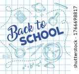back to school  education pen... | Shutterstock .eps vector #1766698817