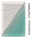 trendy abstract creative... | Shutterstock .eps vector #1766750894